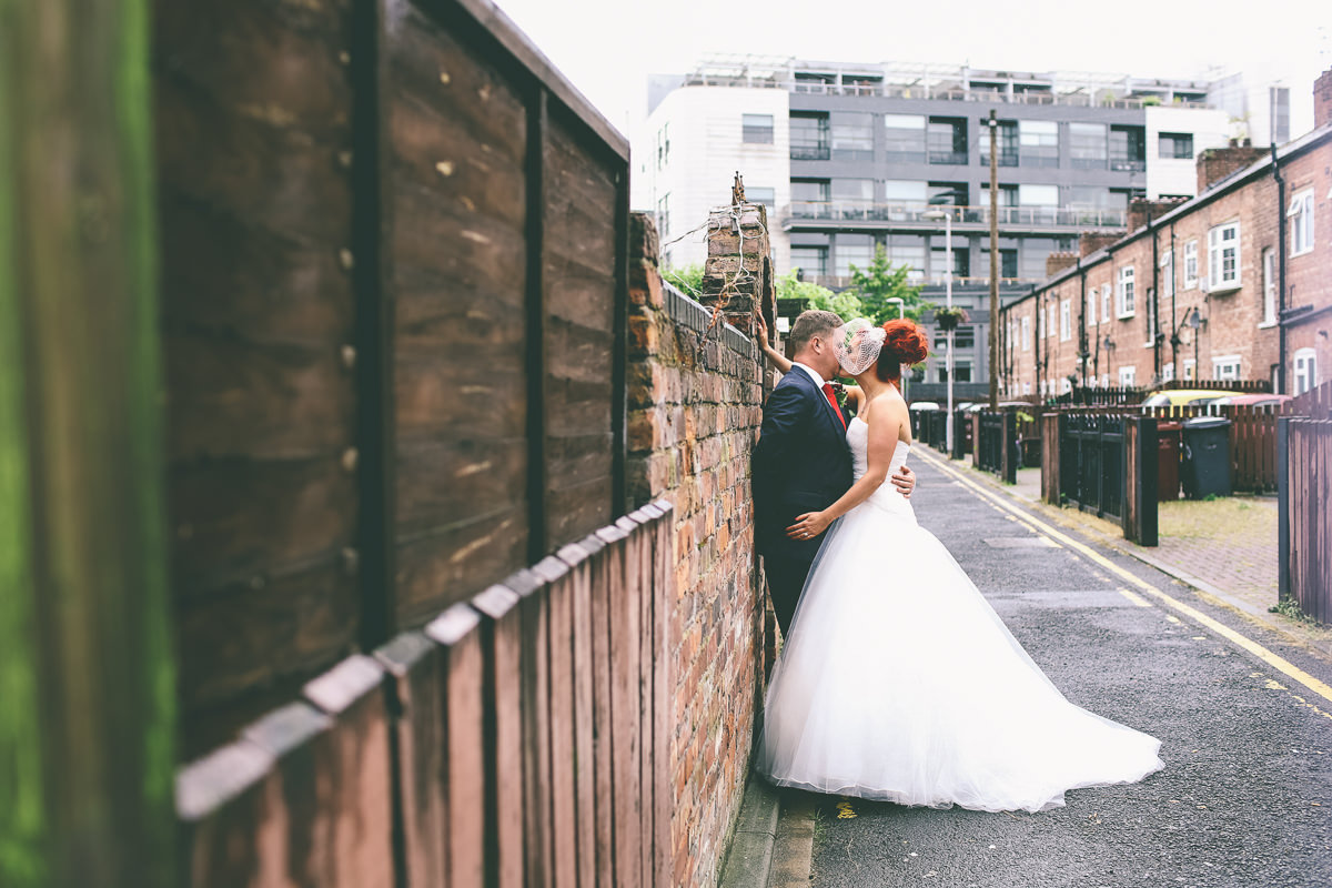 Manchester City Wedding Portraits