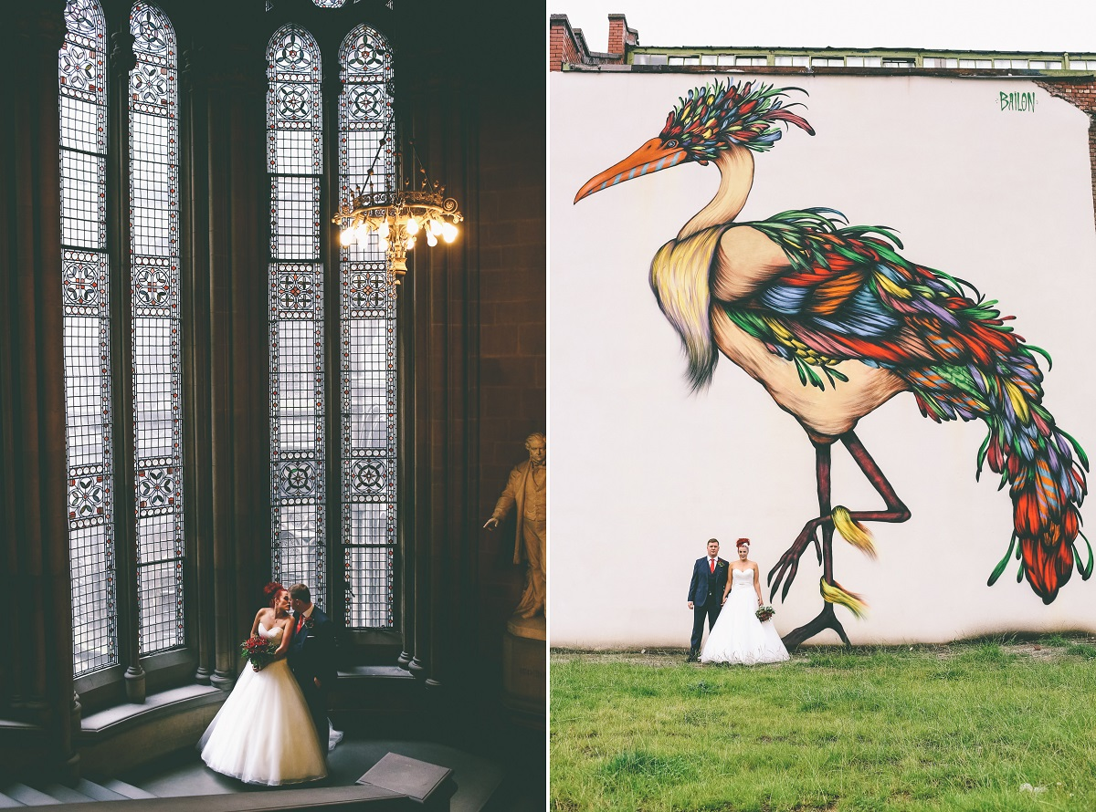 Manchester Wedding Portraits