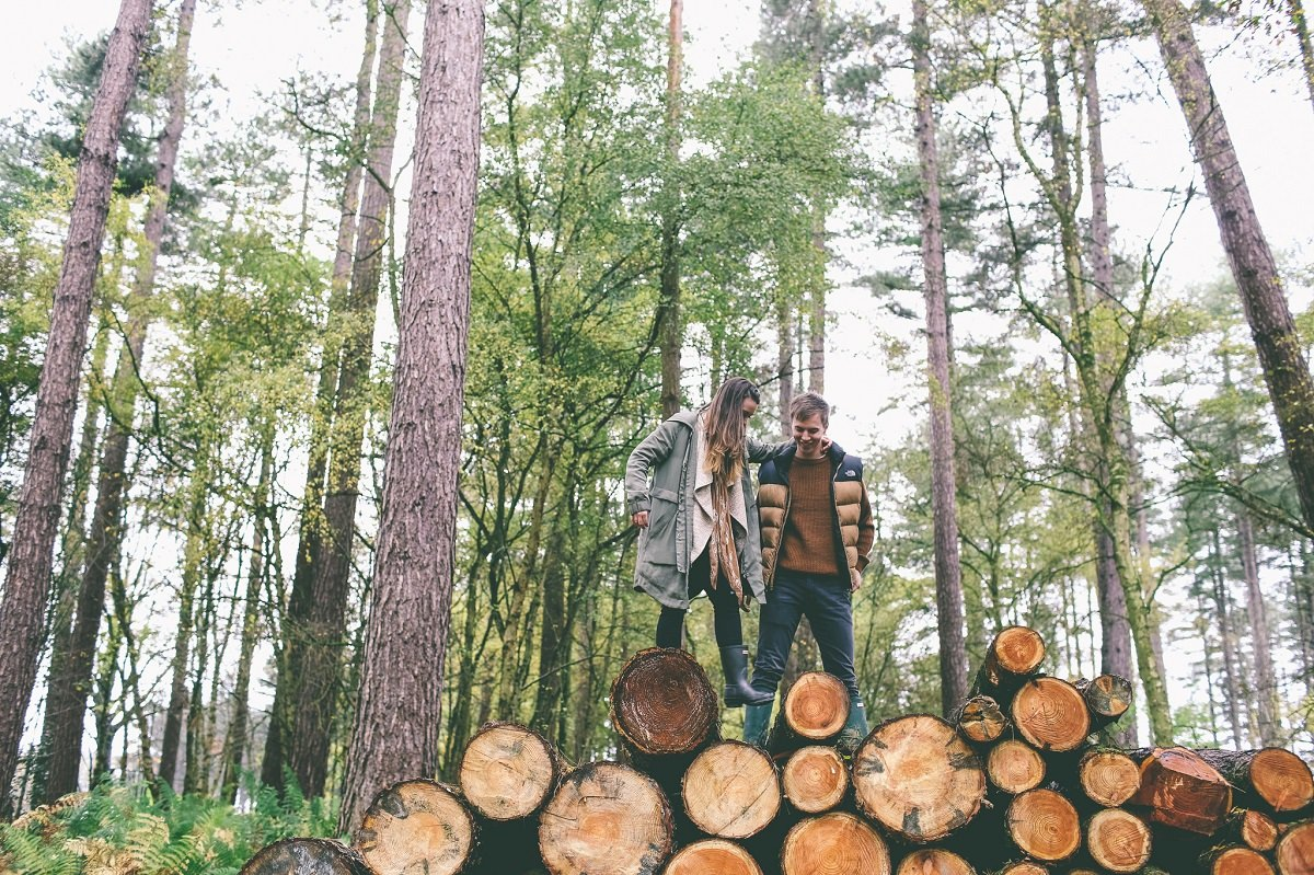 Delamere Forest Engagement Photography