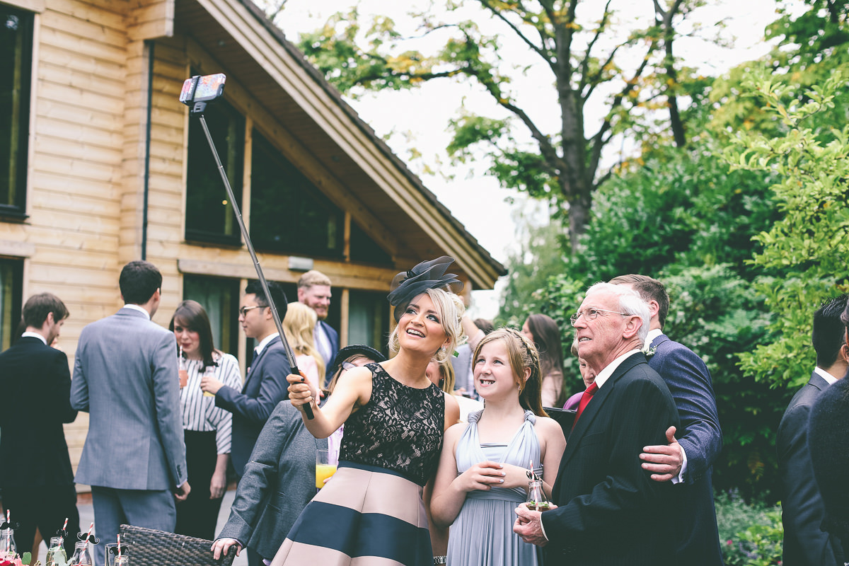 Selfie Stick Wedding