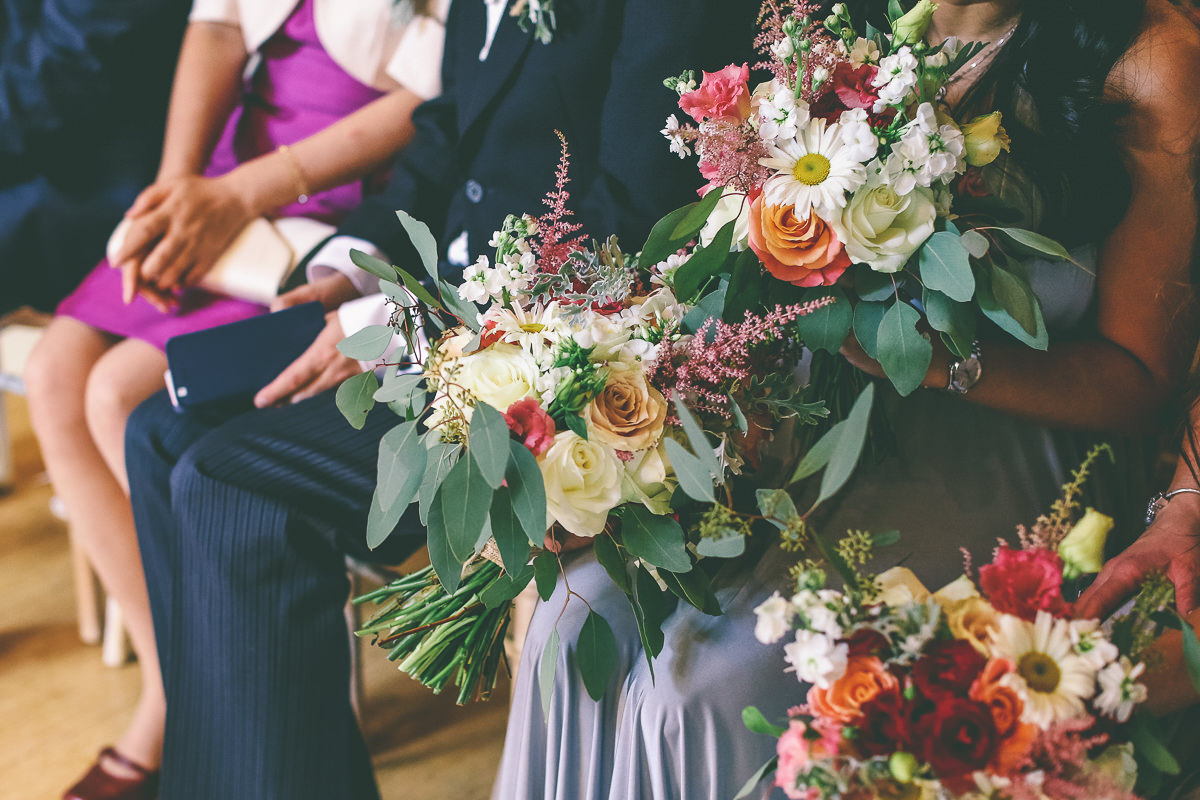 September Wedding Florals