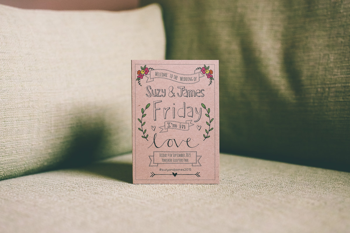 Paperfudge Wedding Stationery
