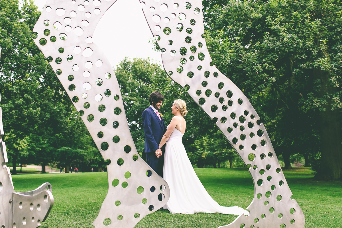 Yorkshire Sculpture Park Wedding Phoography