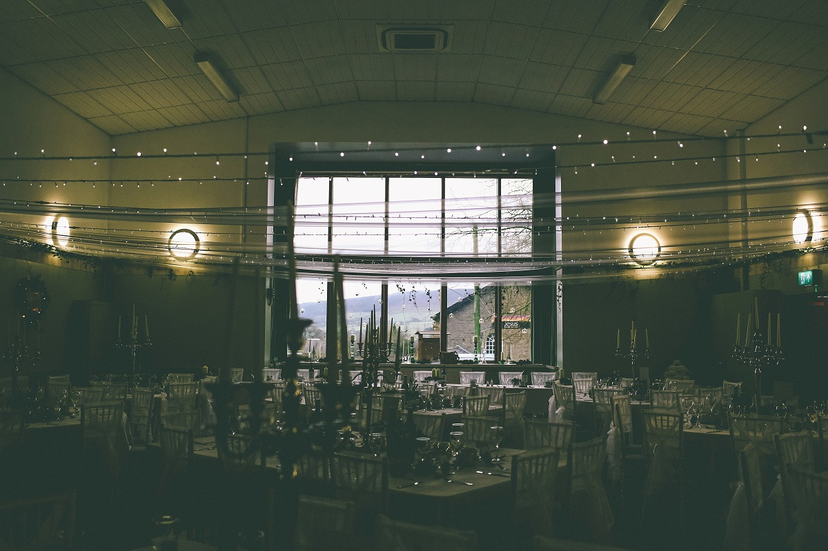 Chipping Village Hall Wedding Interior
