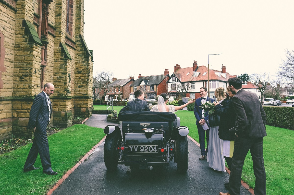 Chipping Village Hall Winter Wedding Photography