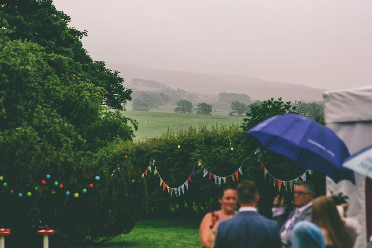 Rainy Festival Wedding
