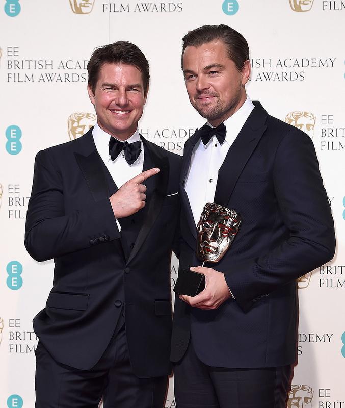 EE BAFTA Film Awards 2016 - Winners Room