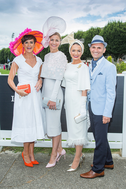 Best Dressed Lady at Dublin Horse Show's Dundrum Town Centre Ladies' Day