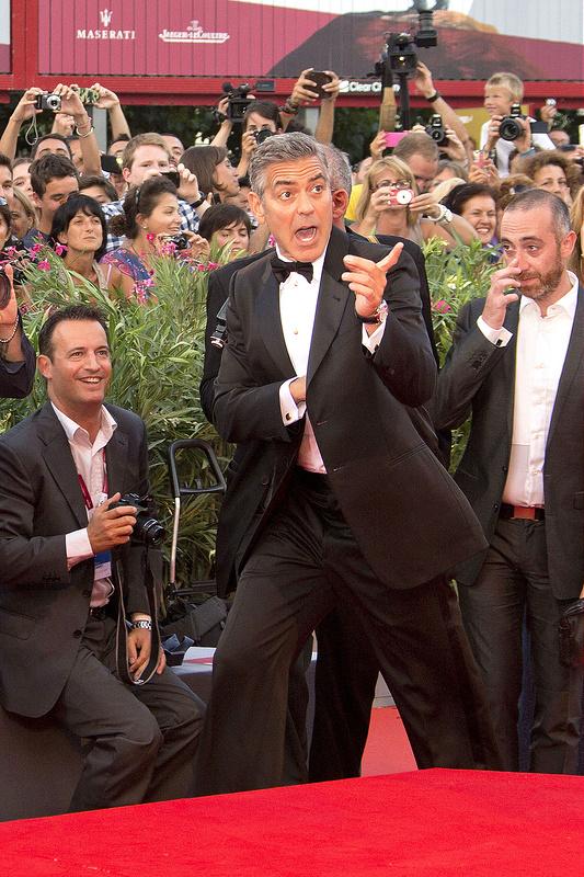 'Gravity' premiere Venice