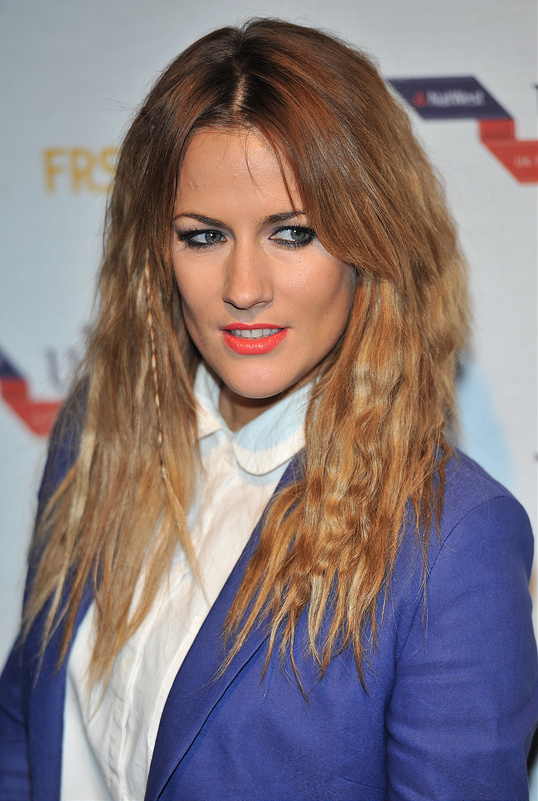 Caroline Flack, Myleene Klass, Erin O'Connor and more at Fashion Awards