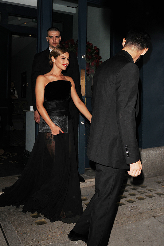 Cheryl Cole's Wedding Party