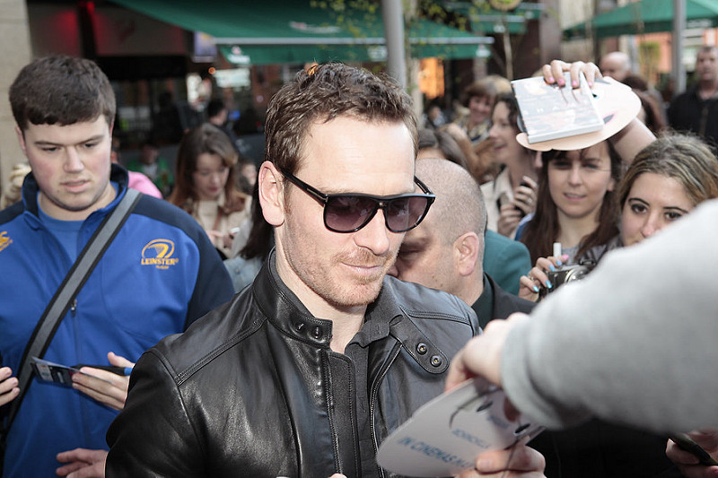 Frank Premiere with Michael Fassbender
