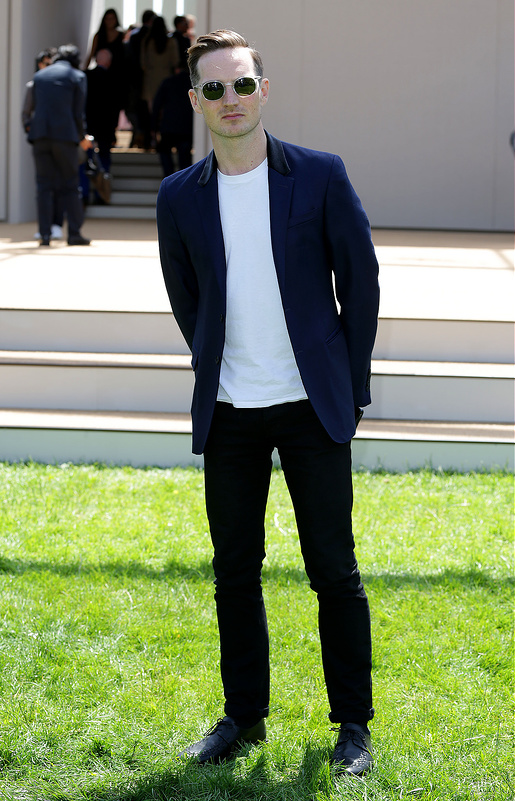 Burberry Prorsum S/S 15 Arrivals at London Fashion Week Men's