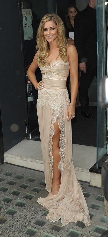 Cheryl Cole's perfume launch