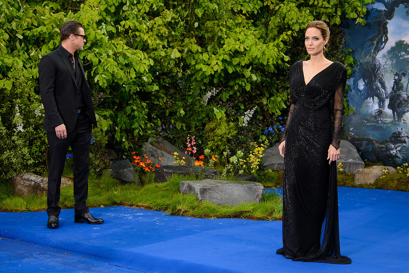 Maleficent - reception at Kensington Palace with Brad & Angelina, Elle Fanning & more