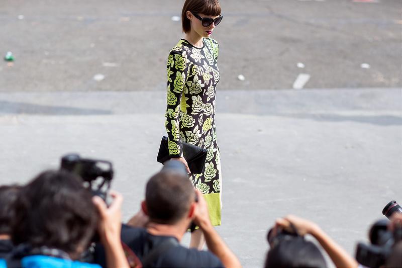 Paris Fashion Week Streetstyle - Spring/Summer 2015