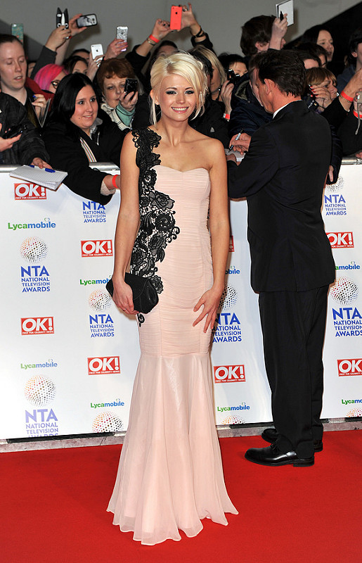 The National Television Awards 2014: Red Carpet