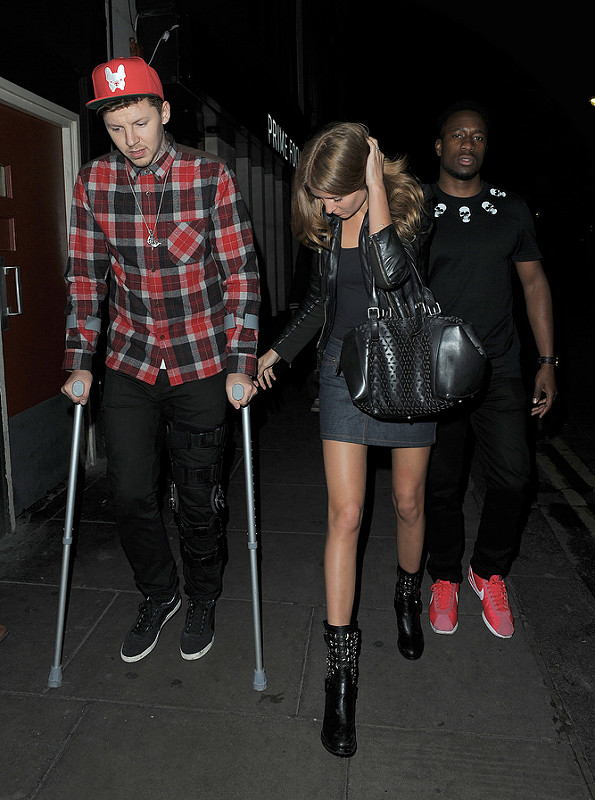 The Odd Couple: Professor Green and Millie Macintosh