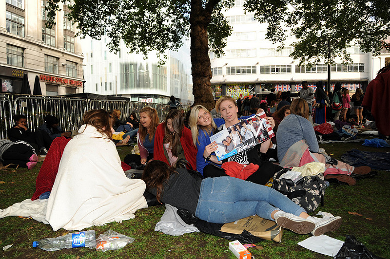 One Direction fans camp outside premiere of This Is Us