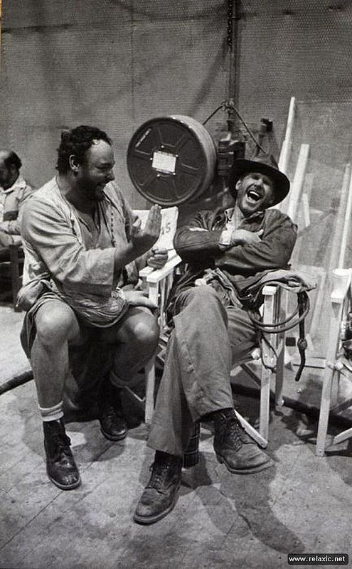 Laughter On Set