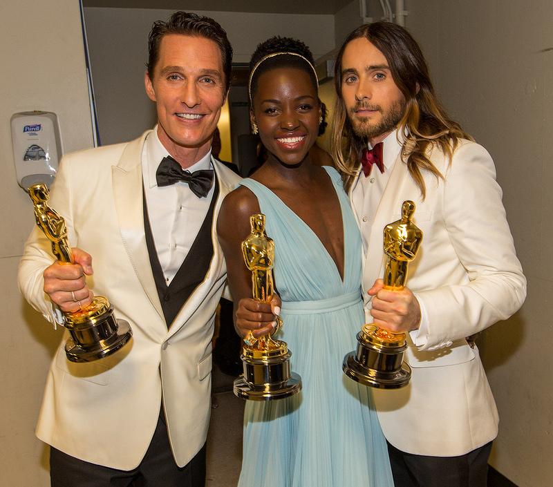 Oscars 2014: Backstage