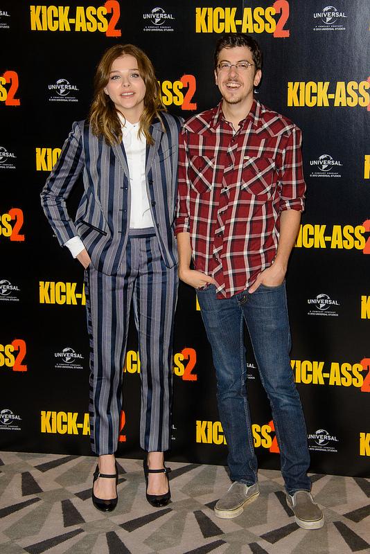 Kick-Ass 2 Photocall: Chloe Moretz and co.