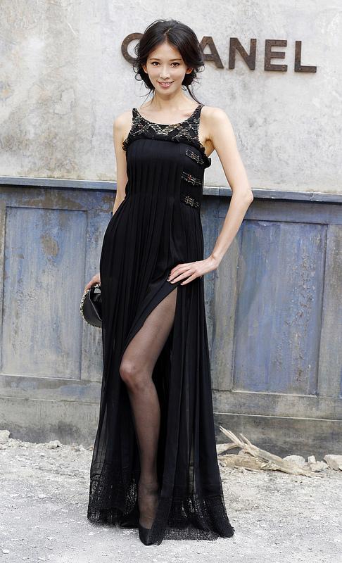 Stars at Paris Fashion Week