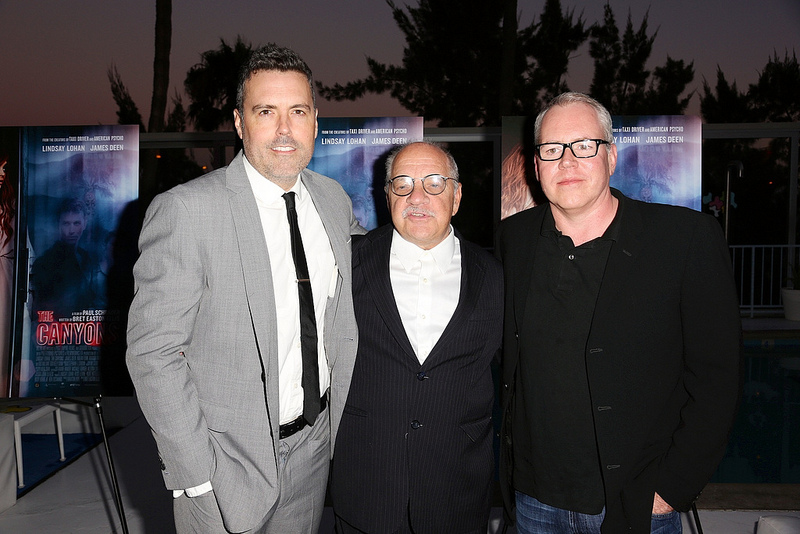 The Canyons LA Premiere