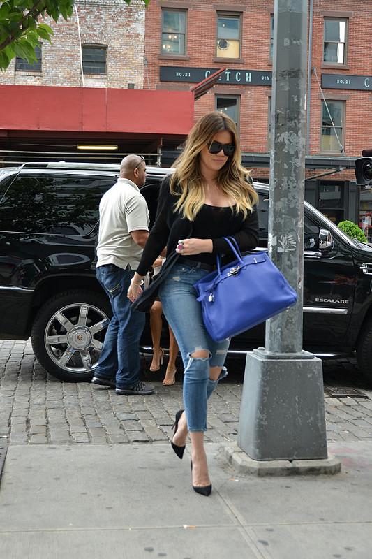 The Kardashians filming in New York