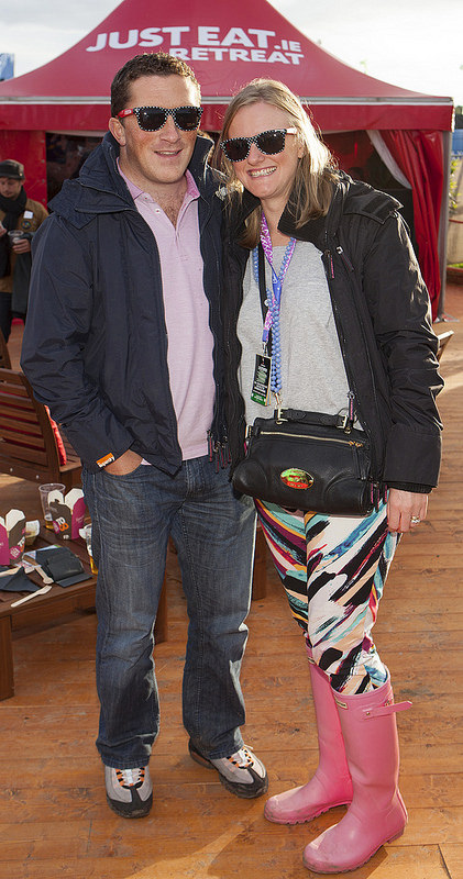 The JustEat.ie Retreat at Electric Picnic 2014