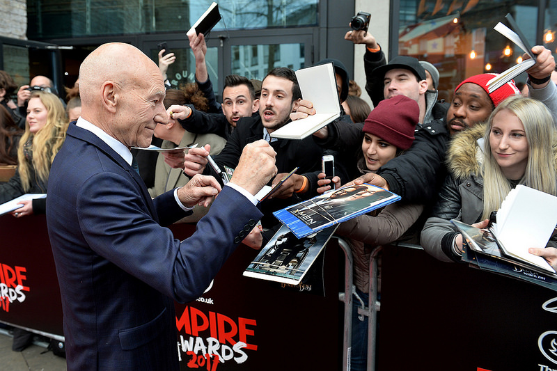 Three Empire Awards 2017 - Red Carpet