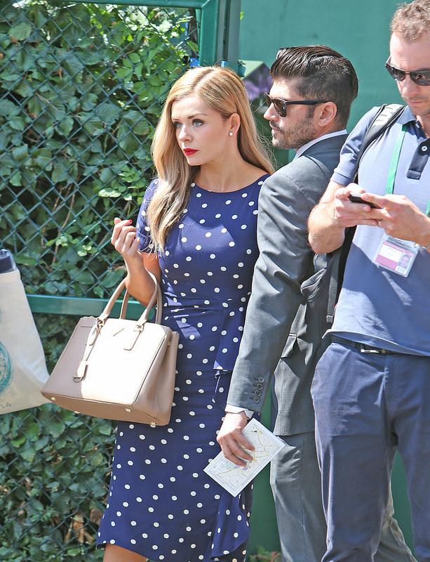 Celebrities at Wimbledon 2014