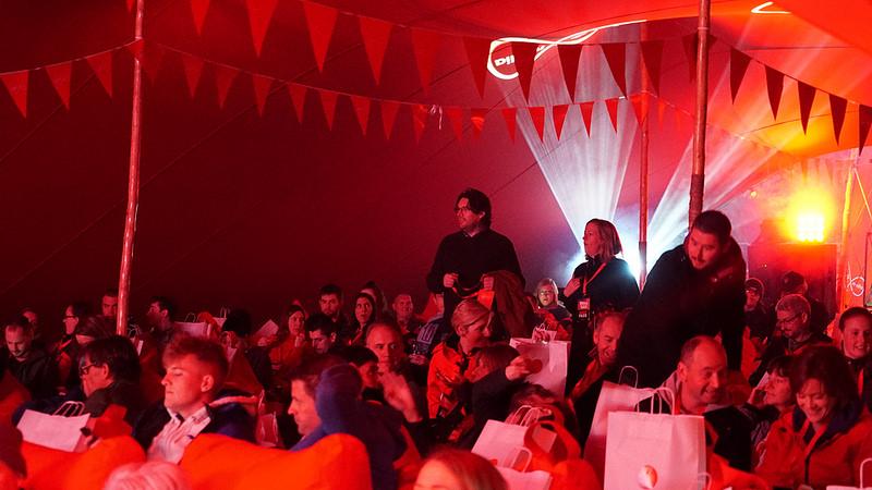 Virgin Media's Full Stream screening of Pulp Fiction in Castlebar