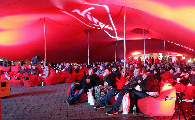 Virgin Media's Full Stream screening of Pulp Fiction in Wexford