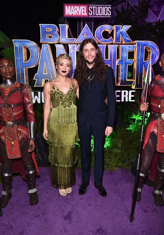 Black Panther World Premiere with Lupita Nyong'o, Taika Waititi, Andy Serkis, Jamie Foxx and more