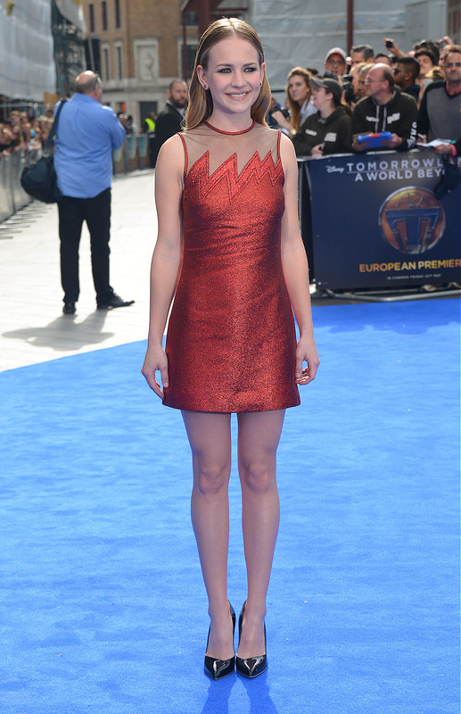 Tomorrowland: A World Beyond European premiere