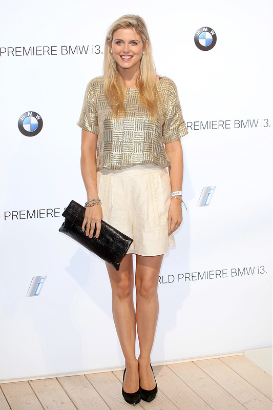 Sienna Miller, Poppy Delevingne, Amber Le Bon and more at BMW reveal party