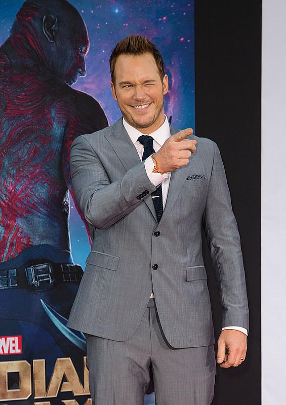 The style evolution of Chris Pratt