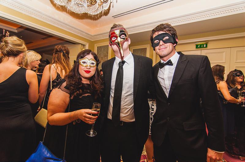 Black and White Masquerade Ball 2014