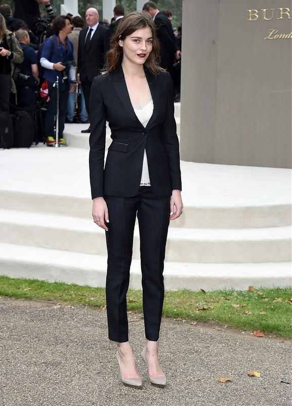 Burberry Womenswear Spring/Summer 2016 show at London Fashion Week