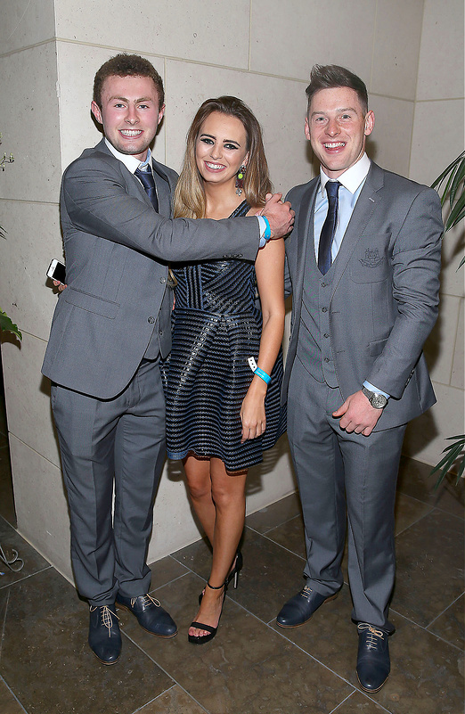 Dublin GAA Team attend the All Ireland Post Match Banquet at the Gibson Hotel