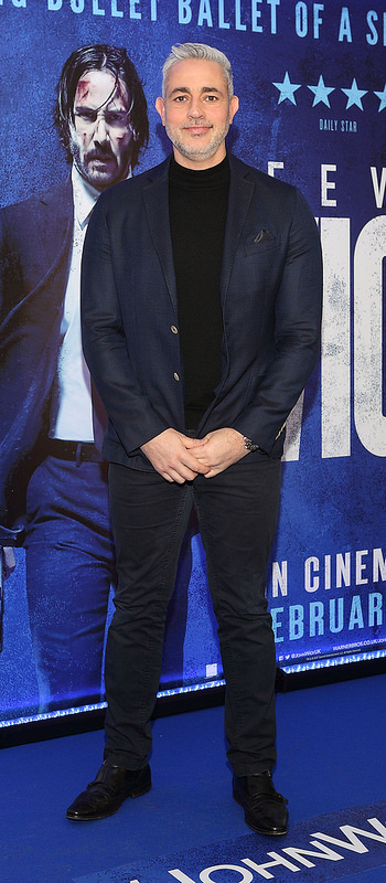 John Wick Chapter Two Irish Premiere Screening at the Light House Cinema, Dublin