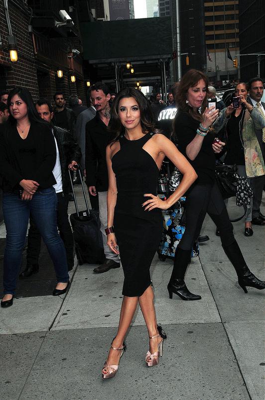 Celebrities arrive at The Ed Sullivan Show