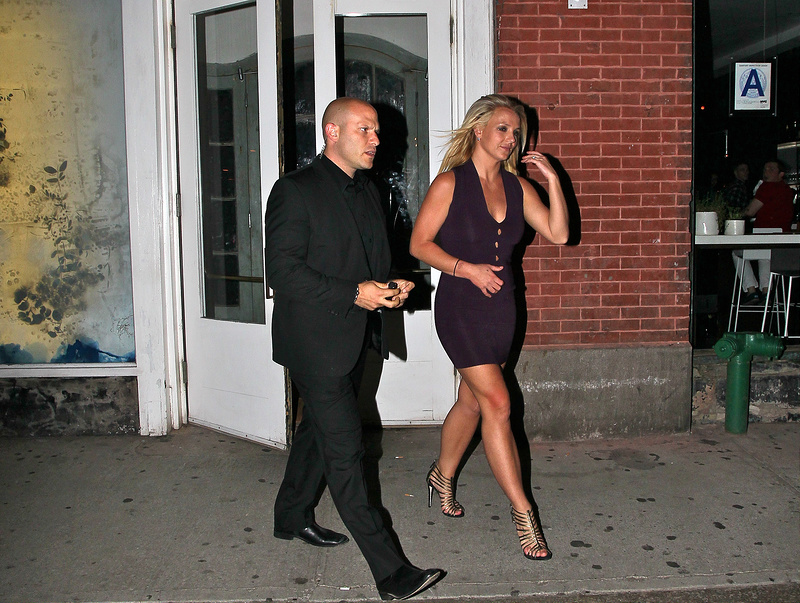Britney Spears out and about in NY