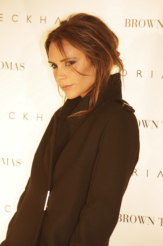 Victoria Beckham at Brown Thomas Dublin