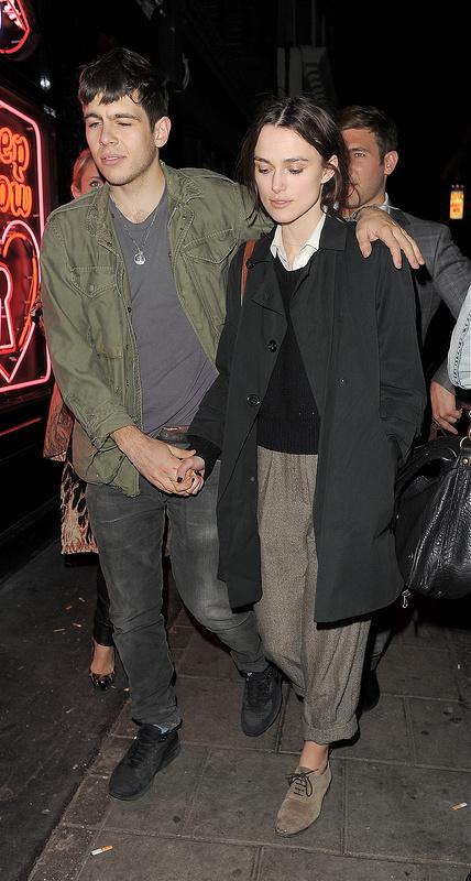 Keira Knightley and her boyf