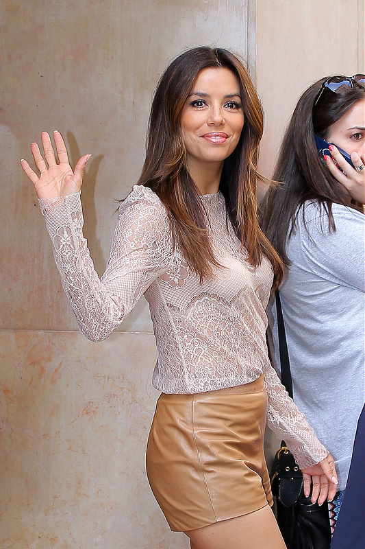 Eva Longoria goes shopping