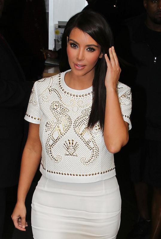 Kim Kardashian at the BBC Radio - London