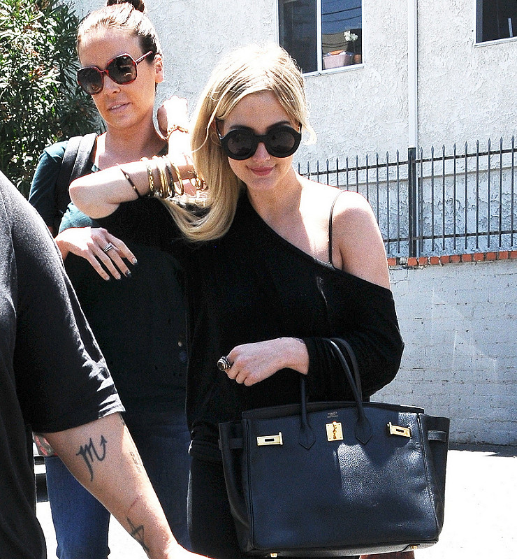 Celebrities Out and About