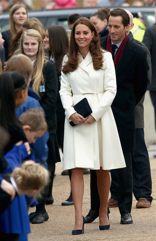 Kate Middleton Visits Portsmouth